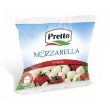 """Моцарелла в рассоле """"Pretto"""" маленькие шарики (100 г)"""