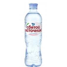 """Вода питьевая """"Святой источник"""" негазированная (12 х 0,5 л)"""