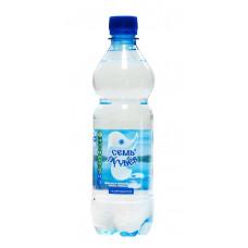 """Вода минеральная """"Семь ручьев"""" газированная (12 х 0,5 л)"""