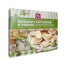 """Вареники """"Fine Life"""" с картофелем и грибами (500 г)"""
