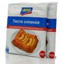 "Тесто слоеное дрожжевое замороженное ""Aro"" (2 х 500 г)"