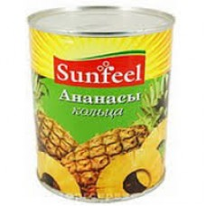 """Ананасы кольца """"Sunfeel"""" (3 кг)"""