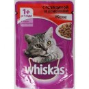 "Корм для кошек ""Whiskas"" желе говядина ягненок (28 х 85 г)"