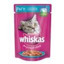 "Корм для кошек ""Whiskas"" рагу кролик индейка (24 х 85 г)"
