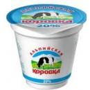 """Сметанный продукт """"Альпийская коровка"""" 20% (250 г)"""
