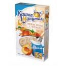 "Овсяная ""Каша-минутка"" со вкусом персика (5 х 43 г)"