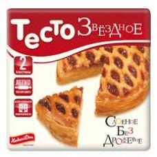 """Тесто слоеное бездрожжевое замороженное """"Звездный"""" (440 г)"""