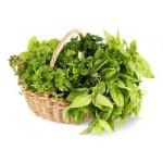 Зелень, салаты